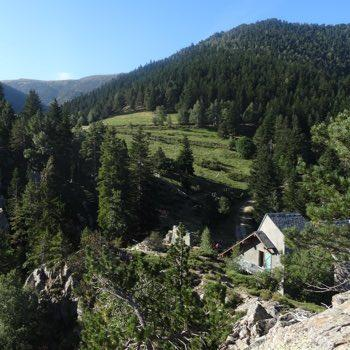 Refuge canigou pyrenees orientales france
